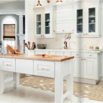 white-kitchen-cabinets-island-Dalton-ga